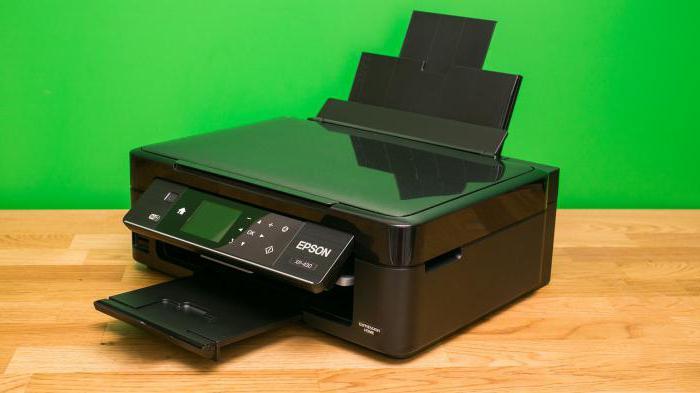 Принцип печати струйного принтера кратко