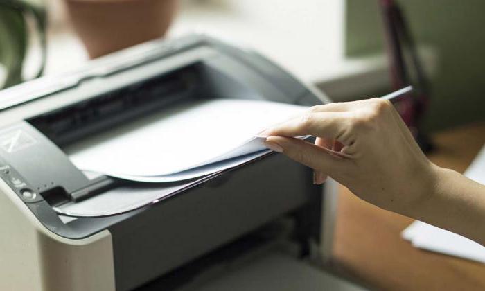 Принцип печати струйного и лазерного принтера кратко