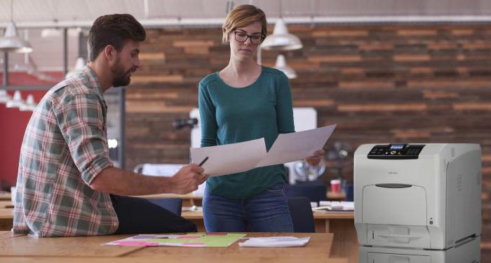 Принцип печати струйного и лазерного принтера: информатика