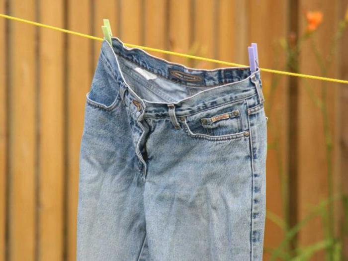 что сделать чтобы джинсы сели на размер