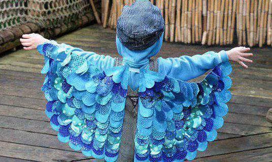 костюм синички для девочки