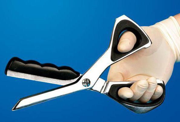 техника безопасности при работе с ножницами