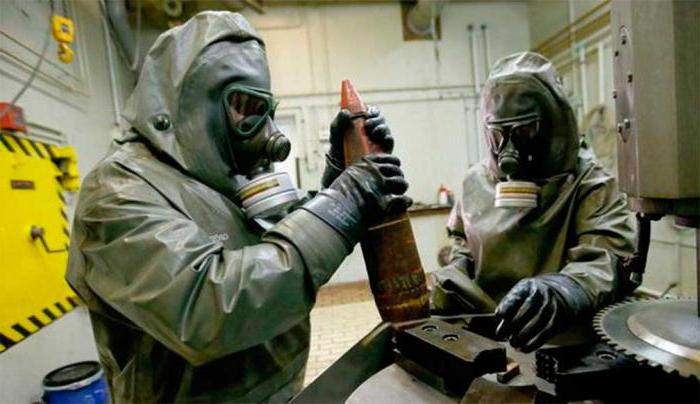 first chemical weapons