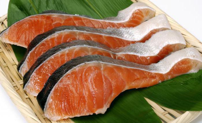 pink salmon fillet fresh frozen