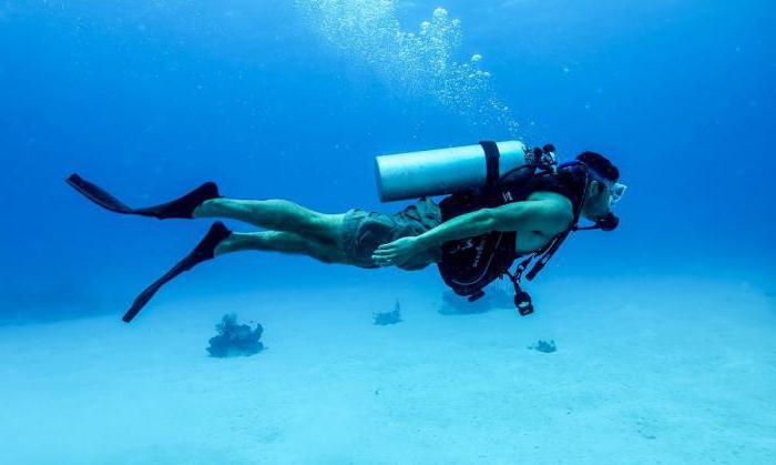 diving tank