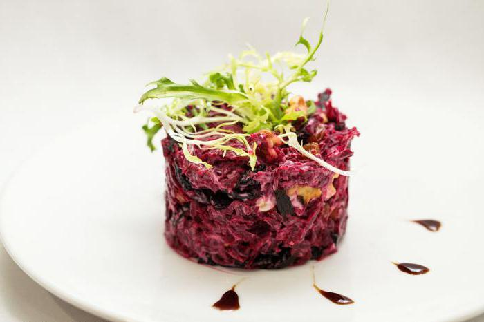 delicious beet salad without mayonnaise