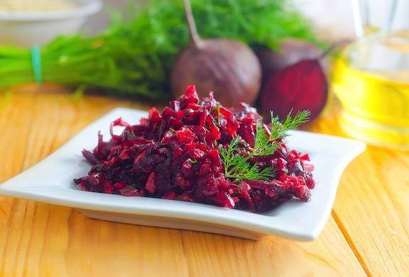 beetroot salad without mayonnaise