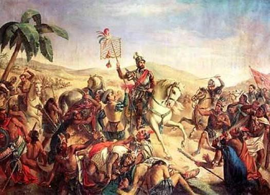 spanish colonization of mexico Spanish conquest and colonization of the americas began with the arrival in america of christopher columbus in 1492he had been searching for a new route to the asian indies and was convinced he had found it.