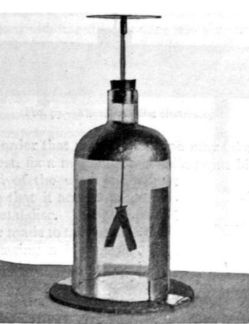 how to make an electroscope at home