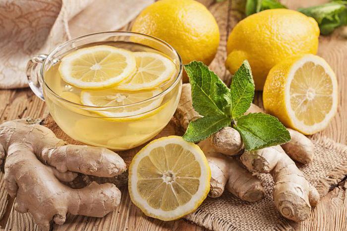 ginger and lemon slimming recipe