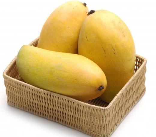 манго где растет страна