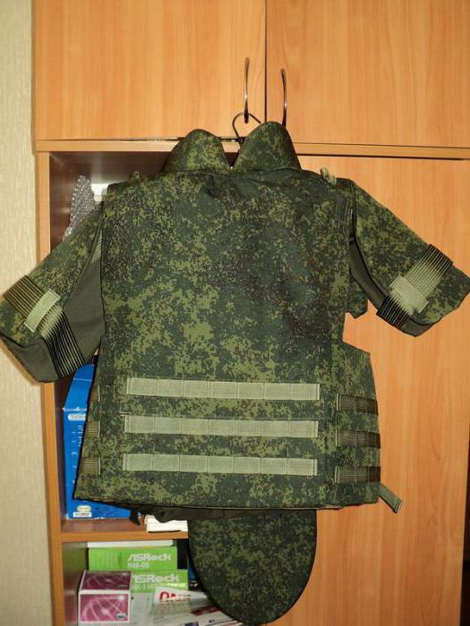 body armor characteristics