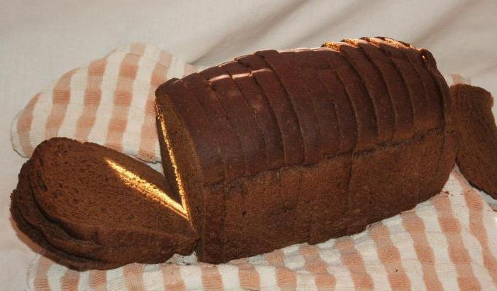 ingredients of Borodino bread
