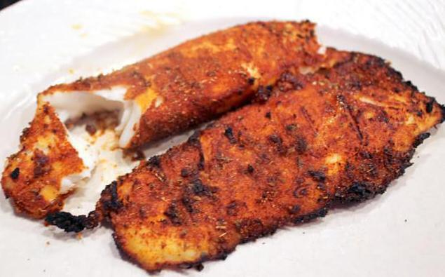 fried salmon roast recipe