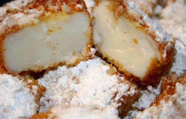 fried milk recipe with photos
