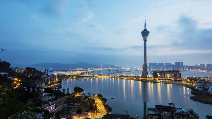 Macau where it is