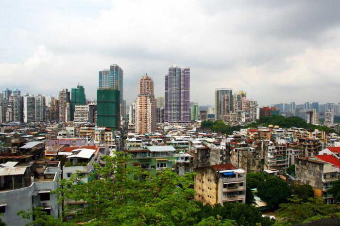 Macau where is the Chinese visa