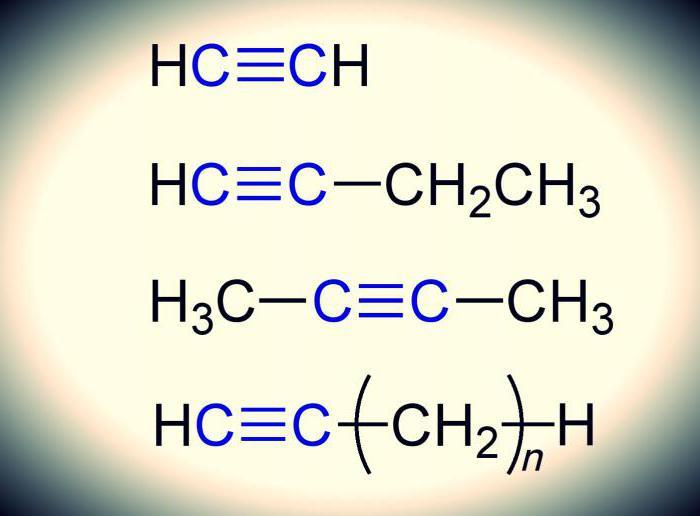 alkyne physical properties