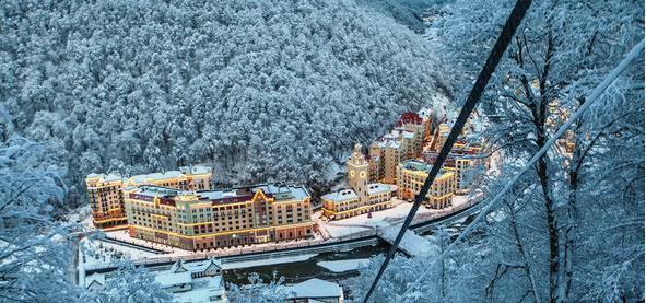 ski resorts of Krasnodar region