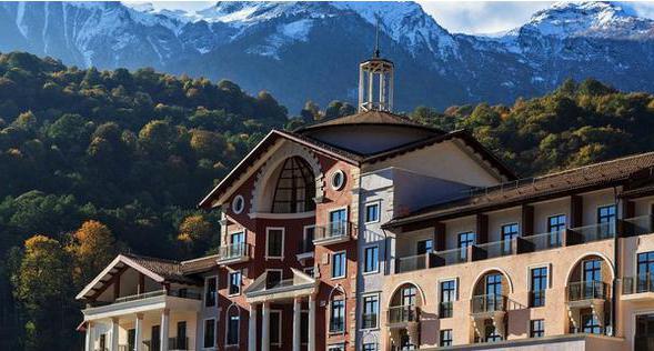 ski resorts of Krasnodar Territory and Adygea