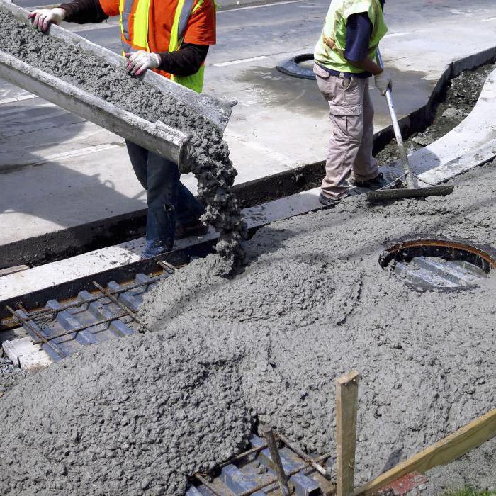 при какой температуре заливать бетон