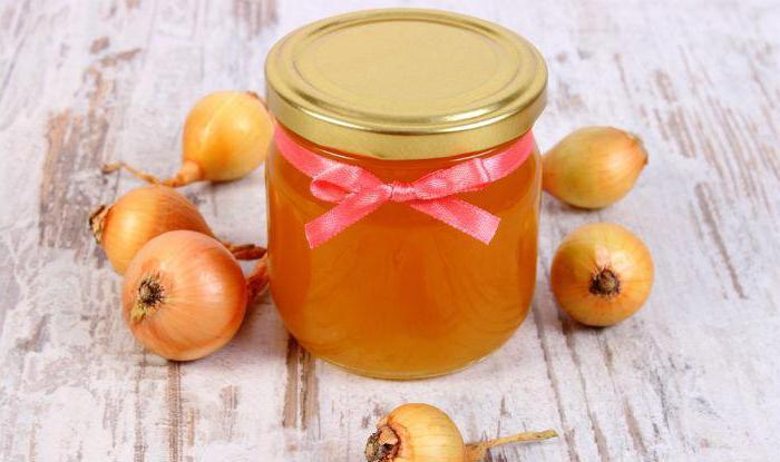 средство от кашля с луком и медом