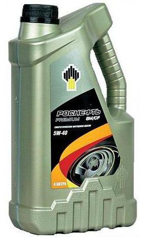 Rosneft oil synthetics 5w40 reviews