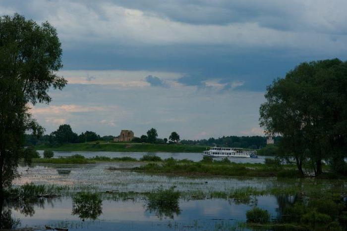 Where is the lake Ilmen in the Volgograd region