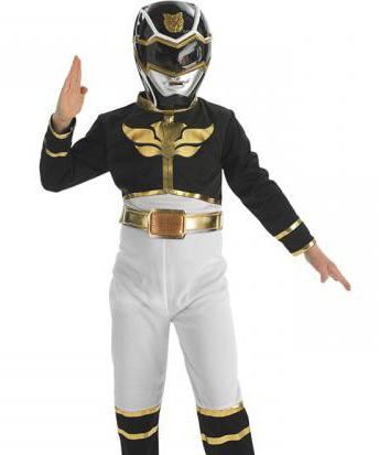 costume of the mighty ranger