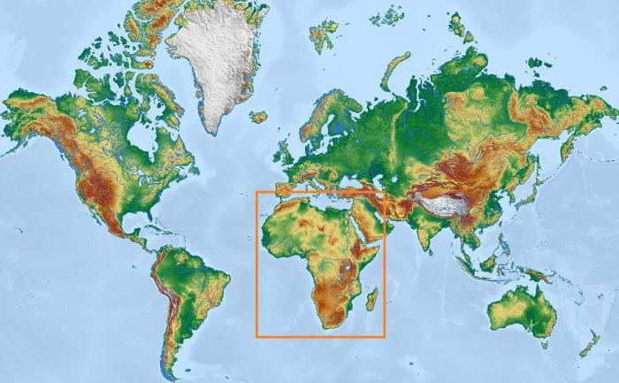 Африка природные ресурсы
