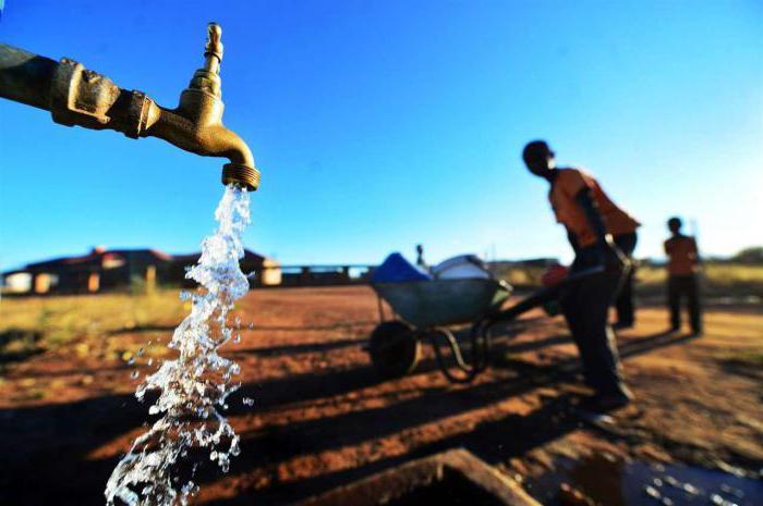 водные ресурсы Африки