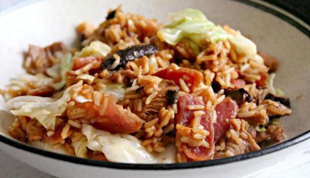 cabbage rice mince recipe