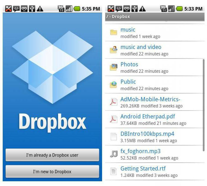 how to add music to dropbox