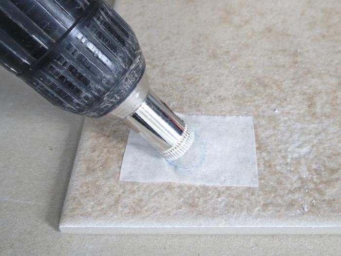 than to drill tiles of porcelain