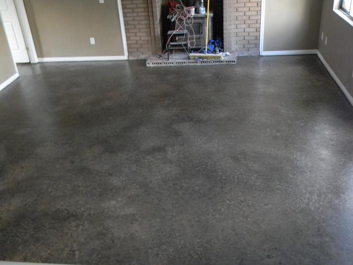how to paint a concrete floor in the street