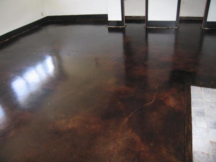 what can paint concrete floor