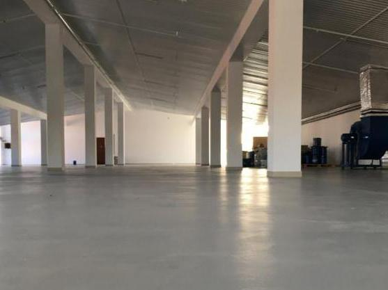 how to paint a concrete floor so as not to dust