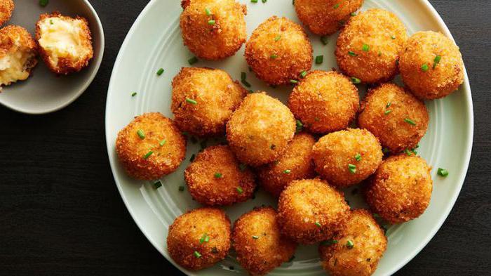 Potato dumplings: a recipe