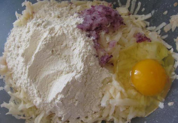 Raw potato dumplings: recipe with photos