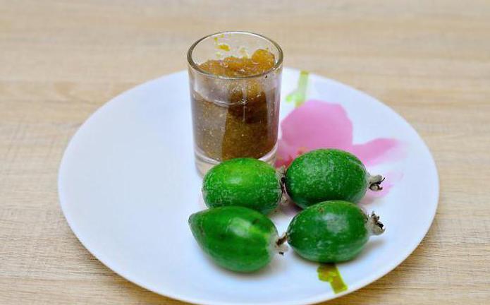 feijoa with lemon and sugar recipe