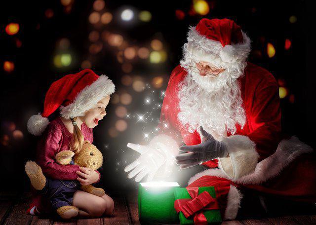 Дед мороз берет подарки 100 к 1 12