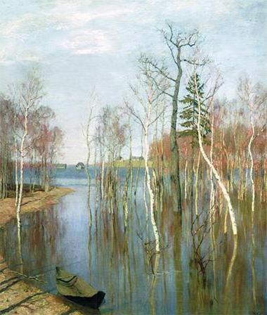 levitan spring big water picture