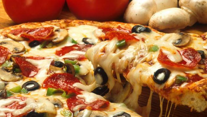 the most delicious pizza