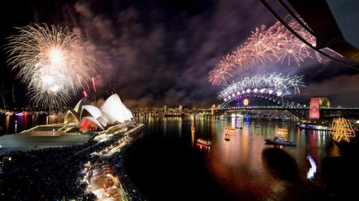 how to celebrate the new year in australia tradition