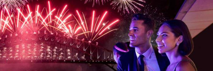 how to celebrate the new year in australia