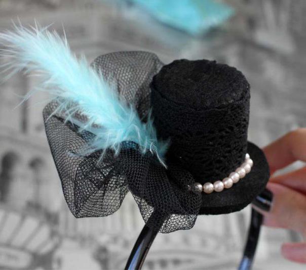как сделать шляпу из подручных материалов