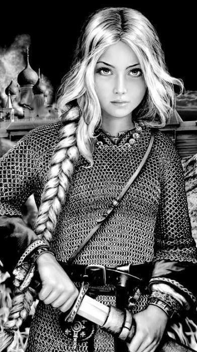 Natalya Pavlishcheva, the maiden of war