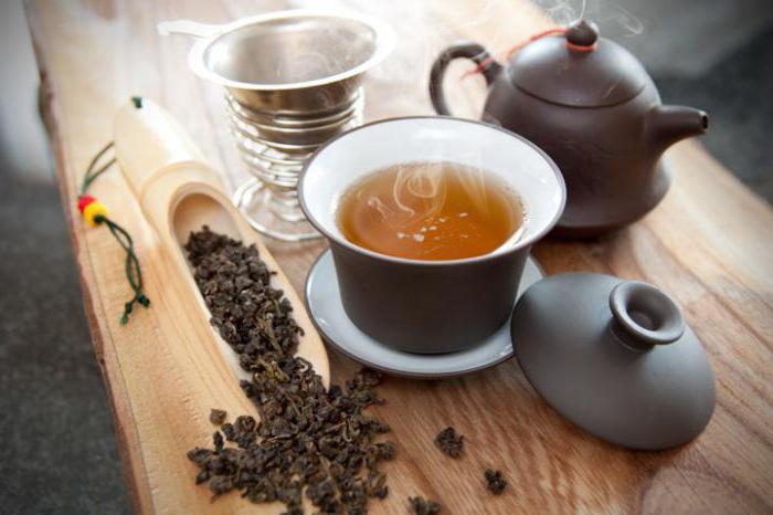 оолонг чай