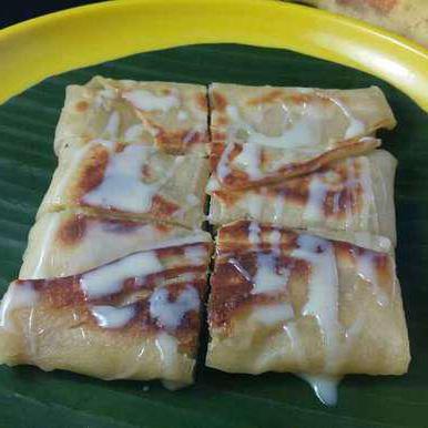 рецепт пышных тайских блинчиков с бананами
