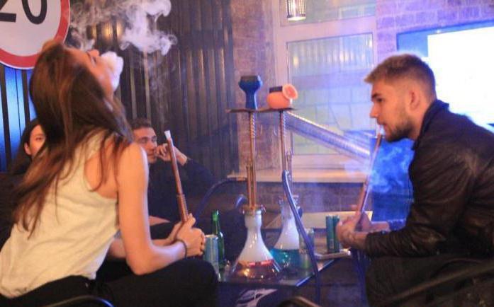 where to smoke hookah in Ryazan